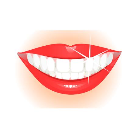 Healthy teeth Illustration