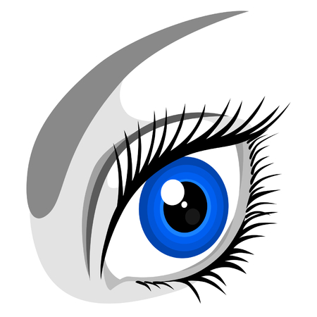bodypart: Human eye Illustration