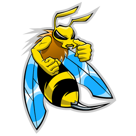 sting: hornet mascot