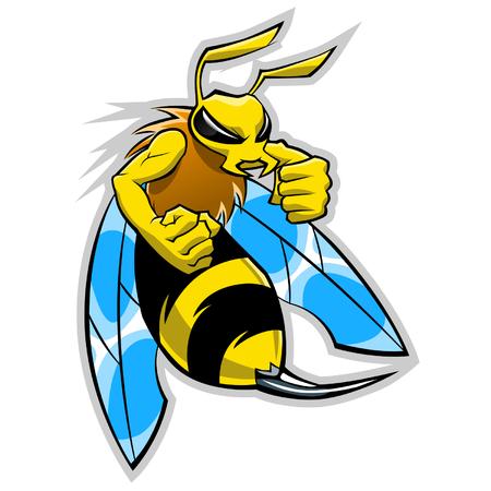 avispa: mascota hornet