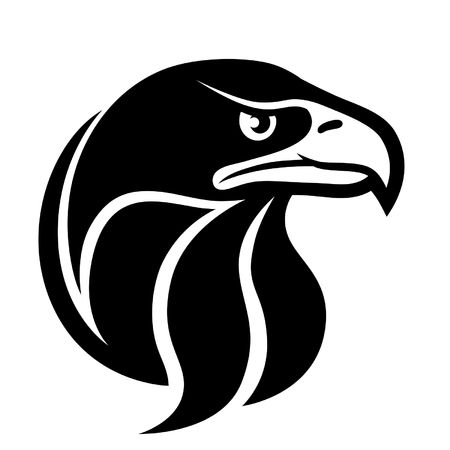 eagle head symbol Vettoriali
