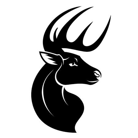 Deer head symbol
