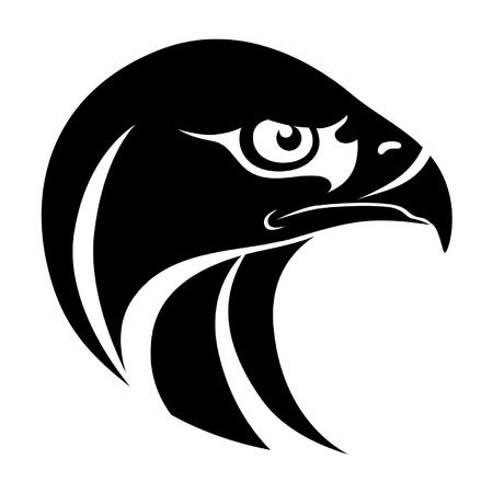 hawk: Hawk head symbol