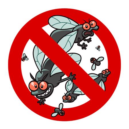Anti blackfly sign