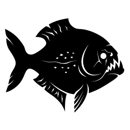 deadly danger sign: Piranha sign
