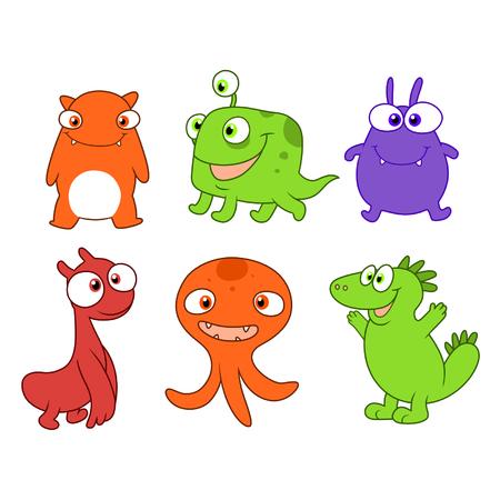 bizarre: Cute monsters set three