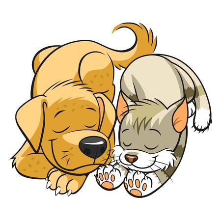 Huisdieren slaapt Stockfoto - 35146928