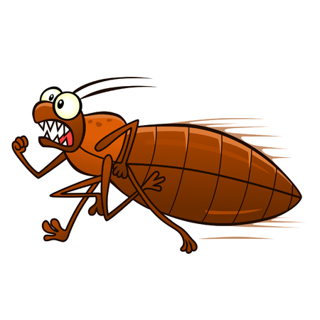 defeated: Running bedbug