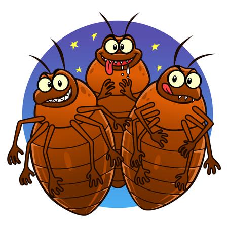 Bedbugs 向量圖像