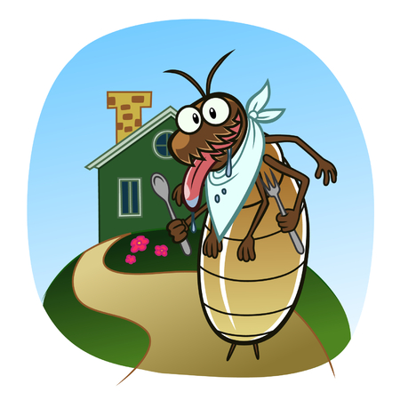 Termite go to house
