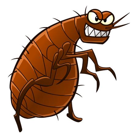 insecto: pulga Vectores