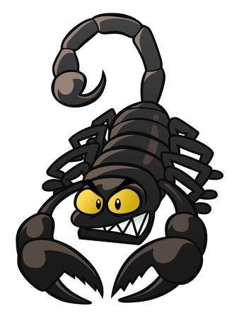 cartoon scorpion: scorpion