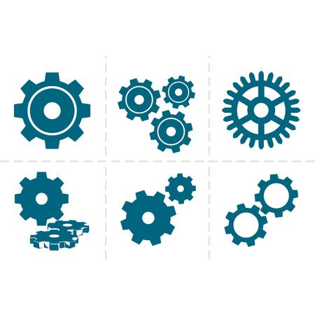 icon set: Gears icon set