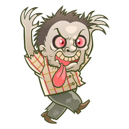 mad: Cute zombie man