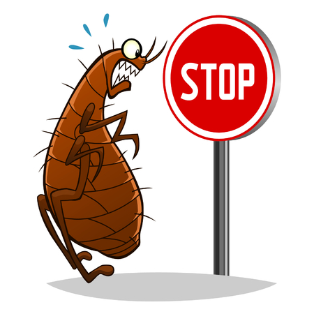 fleas: Stop fleas