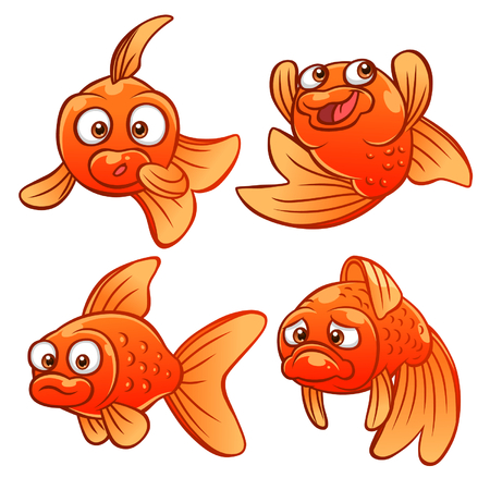 gold fish: Gold fish emotions