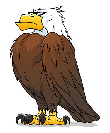 the proud: Proud eagle Illustration