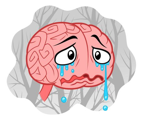 le concept de dépression Vecteurs