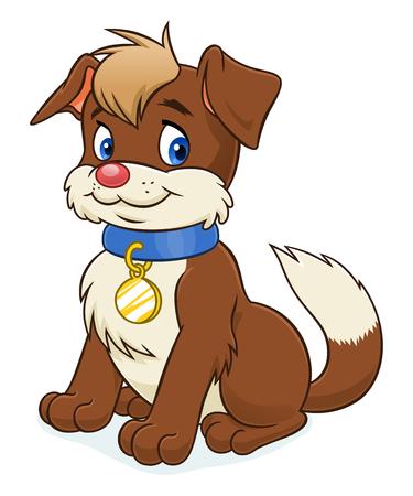 brown: brown puppy