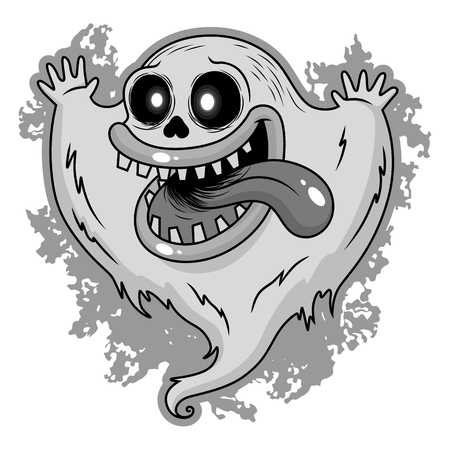 cute ghost: cute ghost Illustration