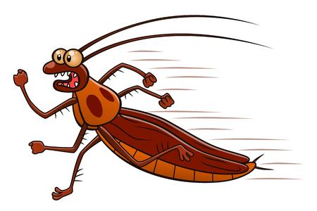実行中のゴキブリ