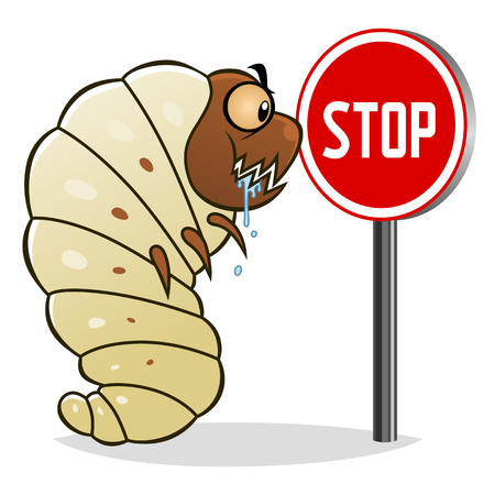 parasitic: Stop woodworms Illustration