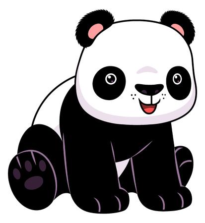 wild asia: Sitting panda