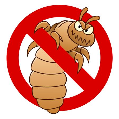 Anti louse sign