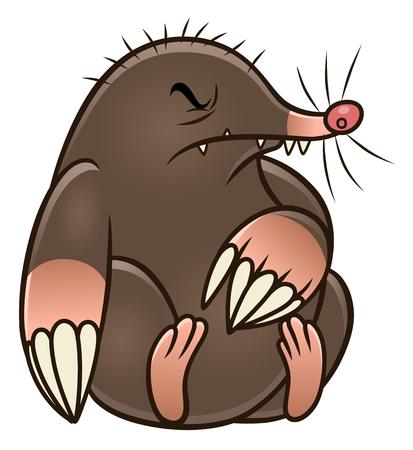 만화 두더쥐 해충