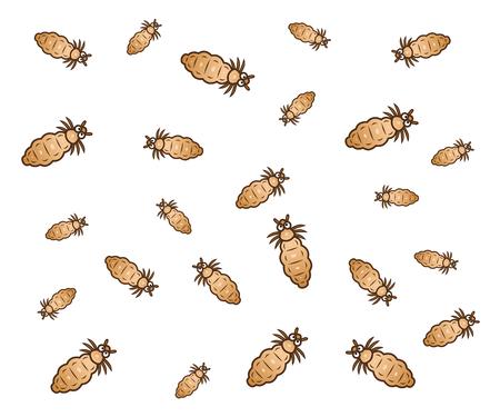 Many lice