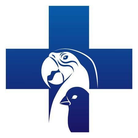 Bird veterinary icon