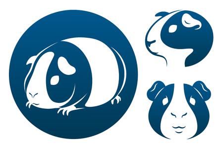Guinea pig icons
