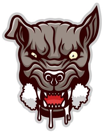 Mad dog simple 免版税图像 - 93873192