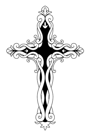 Ornamental Christian Cross
