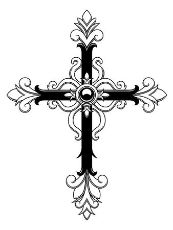 Ozdobny krzyż