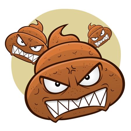 Angry poo
