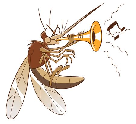 Mosquito making nasty sound