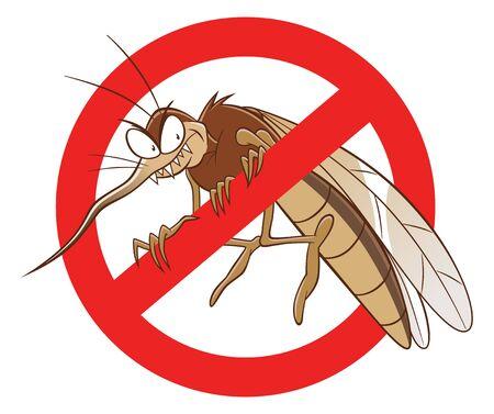 No mosquito sign.