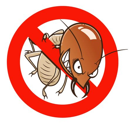 No gracioso signo de termitas