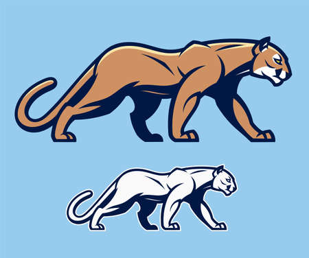 Cougar vector mascot