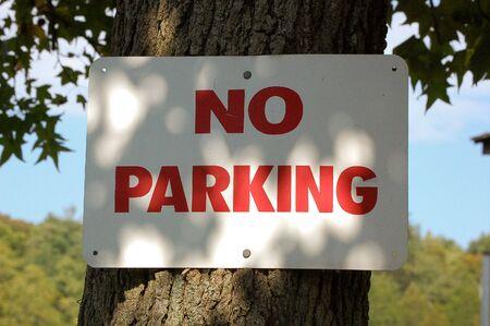 no parking: Aucun parking. Banque d'images