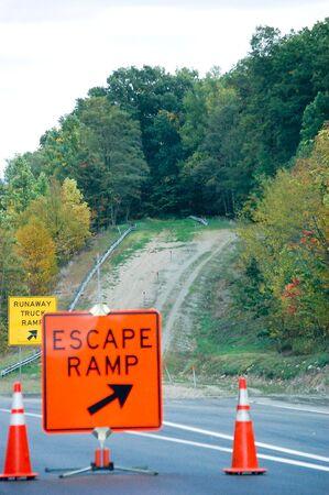 escape: Escape Ramp Stock Photo