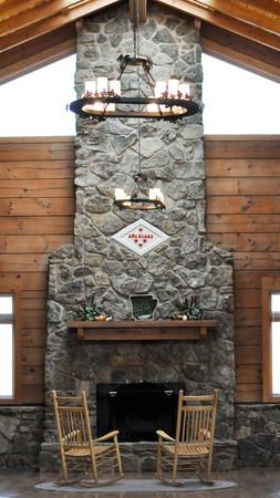 Arkansas Fireplace Stock Photo - 7212469