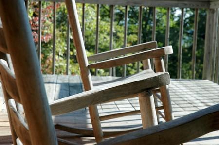 'rocking chair': Rocking Chair Closeup
