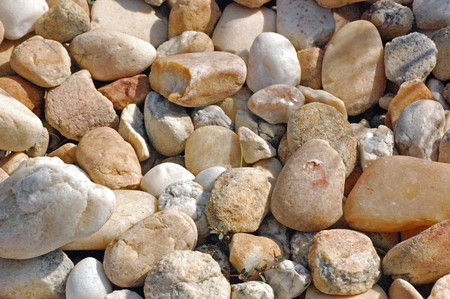 Pebbles and shadows background