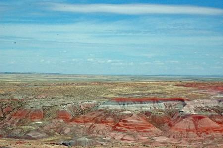 petrified: Petrified Forest Landscape - Arizona
