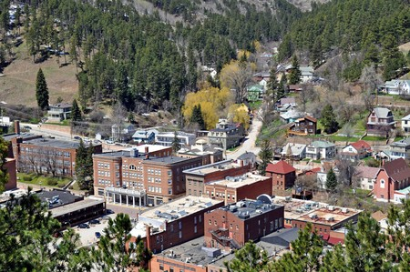Deadwood South Dakota Stock Photo - 7855246