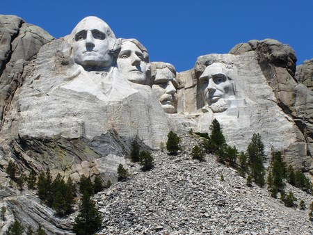 Mount Rushmore South Dakota 新聞圖片
