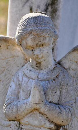 gravesite: Gravesite - Angel - closeup