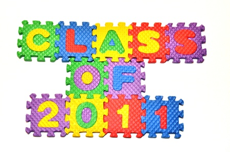 Connected Letters - Class of 2011 in center